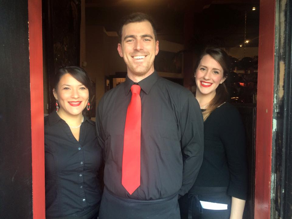 Staff At Monkey Cat - The Servers