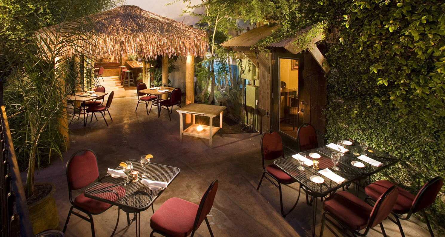 Palapa Bar at The Monkey Cat