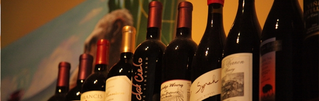 Wines at The Monkey Cat