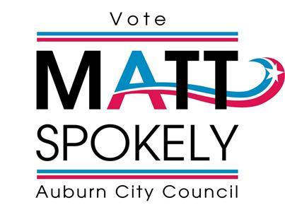 Vote Matt Spokely for Auburn City Council